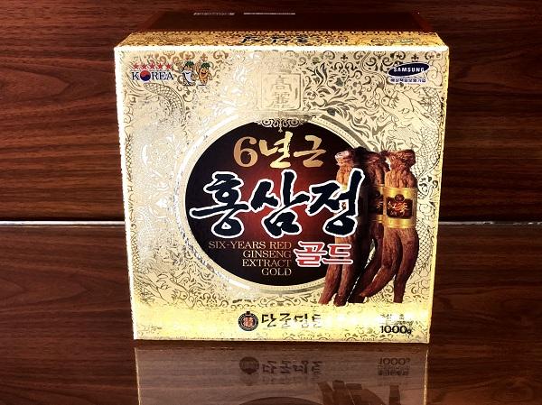 Cao Hồng Sâm KangHwa Hàn Quốc hũ sứ 1kg