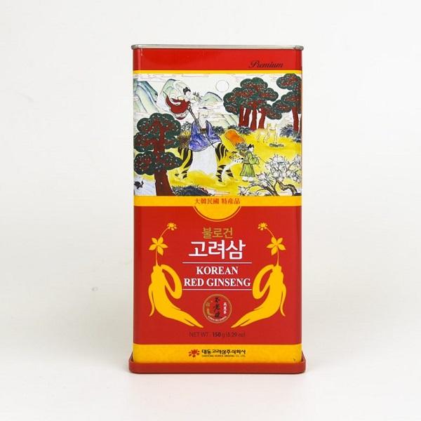 Hồng sâm củ khô 6 năm tuổi Daedong 150gr