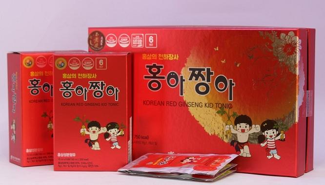 Hồng sâm trẻ em Daedong kid tonic 450ml