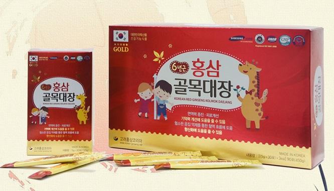 Nước Hồng Sâm Baby Samsung Kkum Dol Ri Red Ginseng Stick