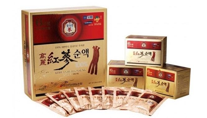 Tinh Chất Hồng Sâm Hàn Quốc 6 Năm Tuổi Pocheon Hộp 30 Gói
