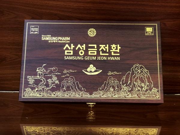 Geum Jeon Hwan – Bổ não Hàn Quốc cao cấp hộp 60 viên